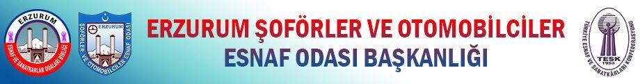 Erzurum Şoförler ve Otomobilciler Esnaf Odası