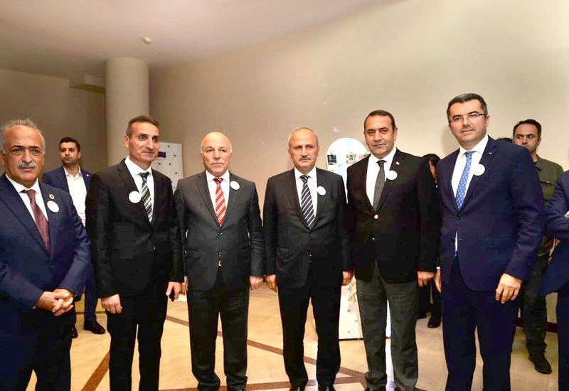 Karakaya, Erzurum'da ulaşım toplantısına katıldı.